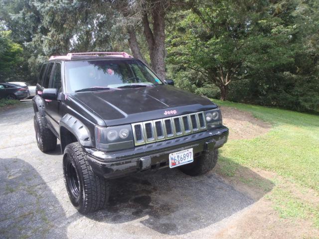 1994 jeep grand cherokee 4 0l 6cyl full time 4wd killer audio lift kit big tires classic jeep. Black Bedroom Furniture Sets. Home Design Ideas
