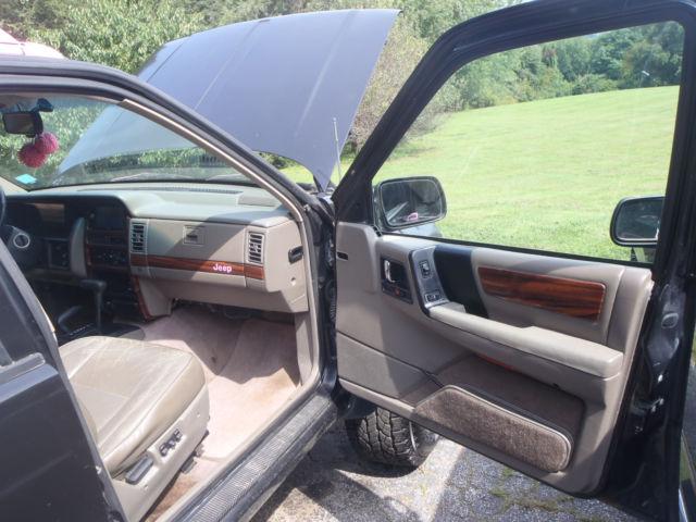 1994 Jeep Grand Cherokee 4 0l 6cyl Full Time 4wd Killer Audio Lift