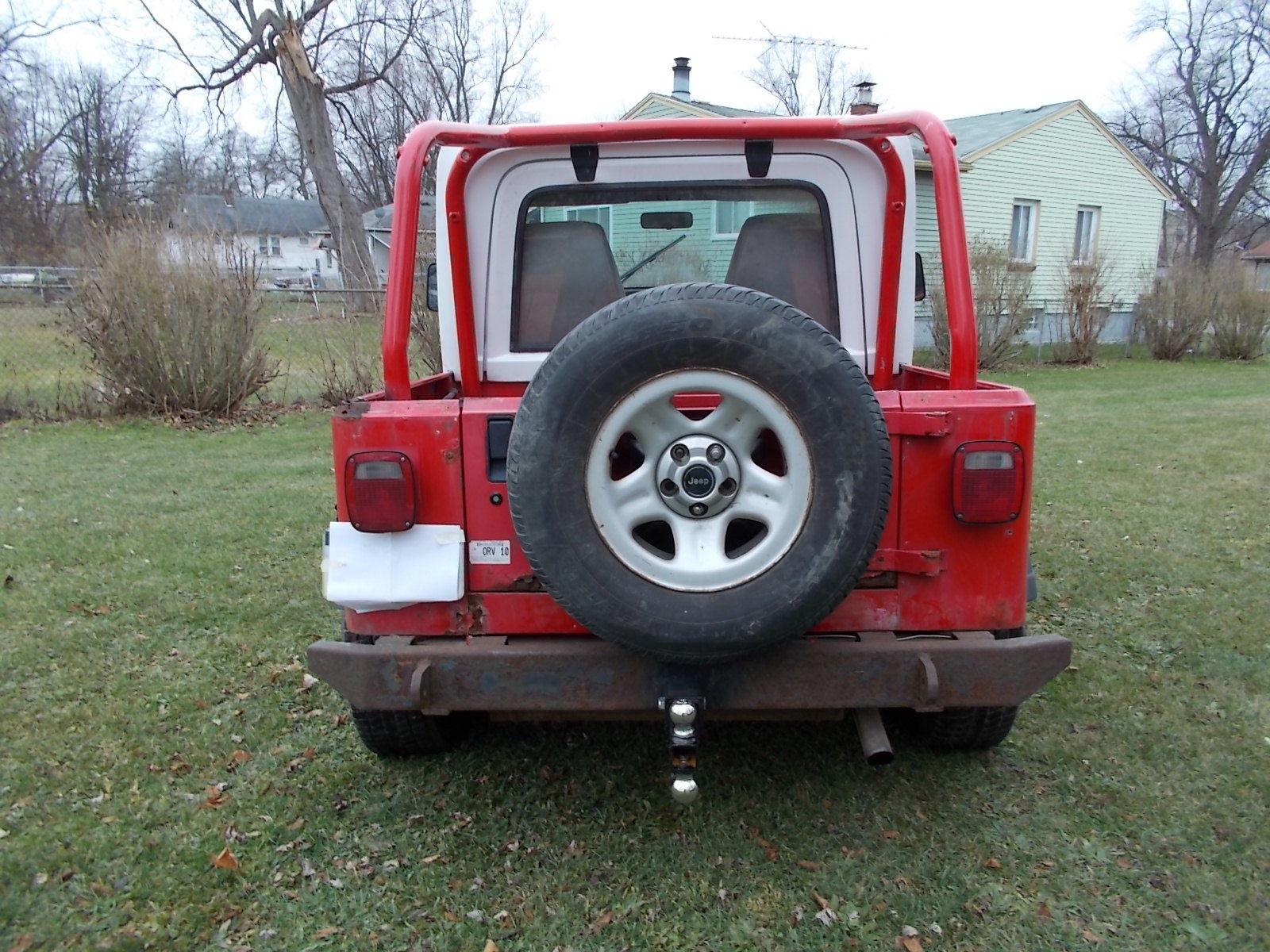 1994 Jeep Wrangler Yjhalf Hardtop25 Amc5 Speed Tranny4x4weber