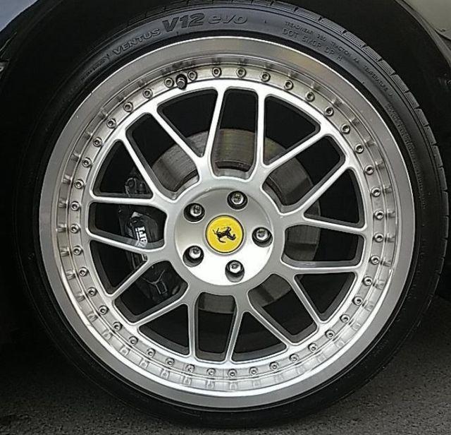 1994 Ferrari 348 Spider: 1994 LOW MILEAGE 348 SPIDER. TRIPLE BLACK 5 SPEED MANUAL