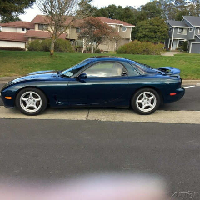 Used Turbo Coupe: 1994 Mazda RX-7 Coupe Rebuilt Turbo 1.3L R Manual 36,520