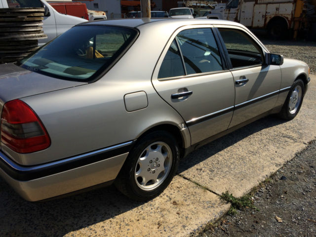 1994 mercedes benz c280 champagne color classic mercedes for Mercedes benz c class colours
