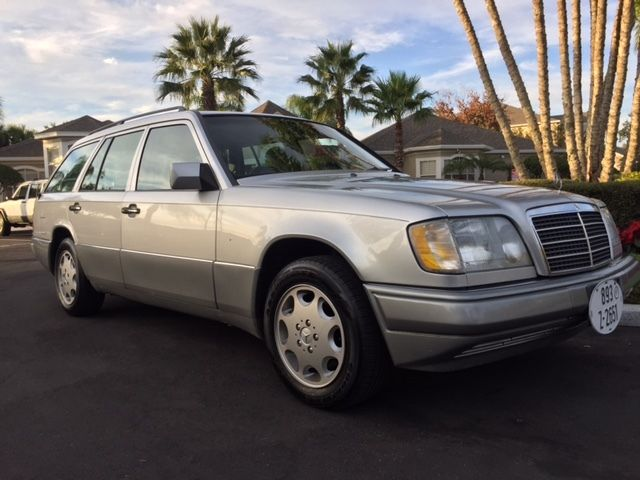 1994 mercedes benz e320 e class wagon 7 passenger florida for Mercedes benz 7 passenger