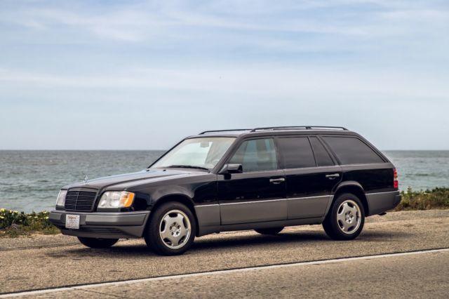 1994 mercedes benz e320 wagon w124 black 32d row seat low for Mercedes benz e350 wagon for sale