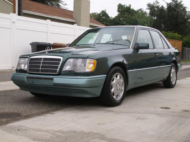 1994 mercedes benz e420 very low miles rare barn yard w124 for Mercedes benz e320 1994