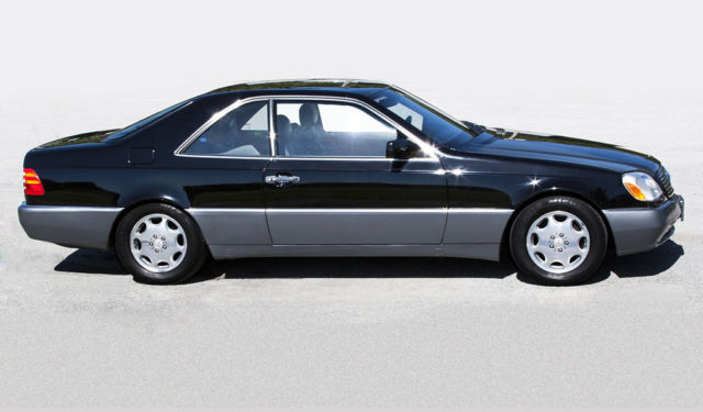 1994 mercedes benz s500 coupe w140 rare and amazing for 1994 mercedes benz s500
