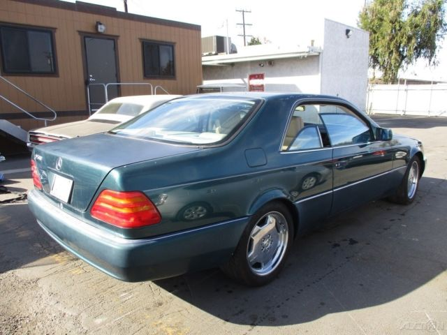 1994 Mercedes Benz S500 Used 5l V8 32v Automatic Coupe No