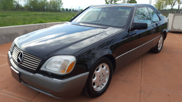 1994 mercedes benz s600 coupe like new no reserve for 1994 mercedes benz s500
