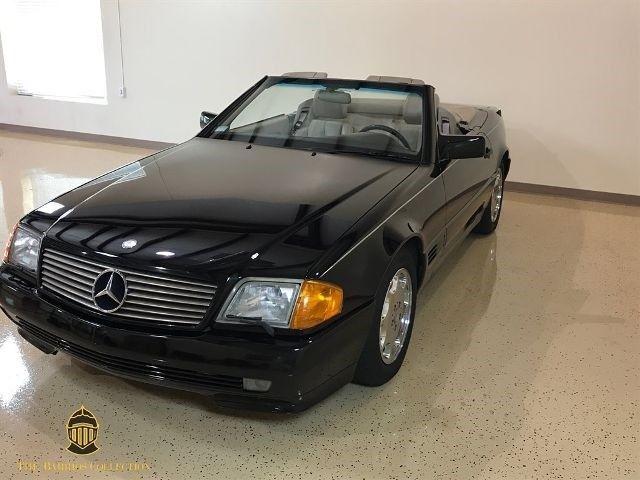 1994 mercedes benz sl class sl 500 roadster 2d black convertible v8 5 0 liter a classic. Black Bedroom Furniture Sets. Home Design Ideas