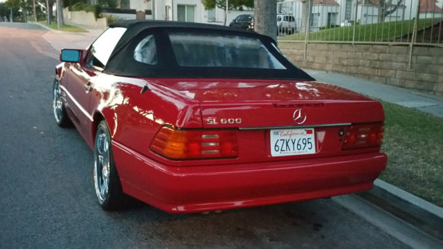 1994 Mercedes Benz Sl600 Convertible 2 Door 600sl Sl500 Sl