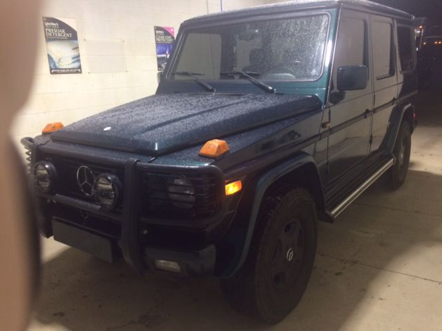1994 mercedes g class gelandewagen amg g36 classic for Mercedes benz gelandewagen for sale