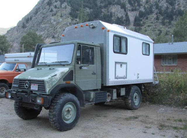 1994 mercedes unimog expedition camper u140l classic for Mercedes benz camper for sale