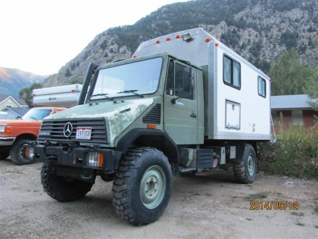 1994 Mercedes Unimog Expedition Camper U140L - Classic Mercedes-Benz