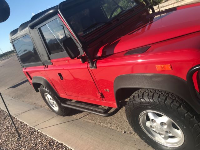 Land Rover Scottsdale >> 1994 NAS Defender 90 Convertible With Hardtop Arizona Owned - Classic Land Rover Defender 1994 ...