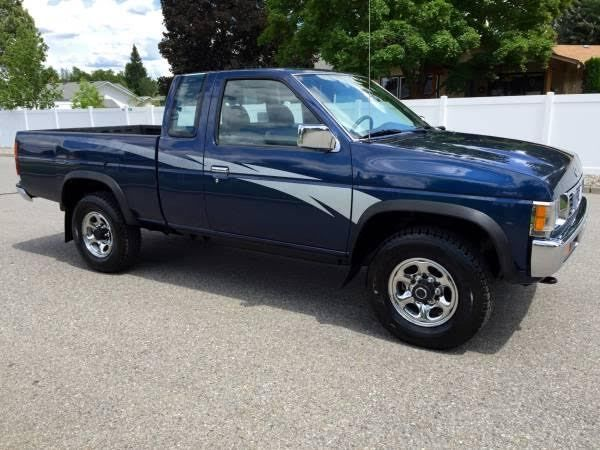 1994 Nissan Pickup King Cab 4x4 With 50 047 Miles Must See