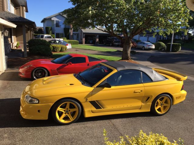 1994 saleen cobra speedster mustang tribute 5 0 94 s351 r code ford rare 95 1995 classic ford. Black Bedroom Furniture Sets. Home Design Ideas