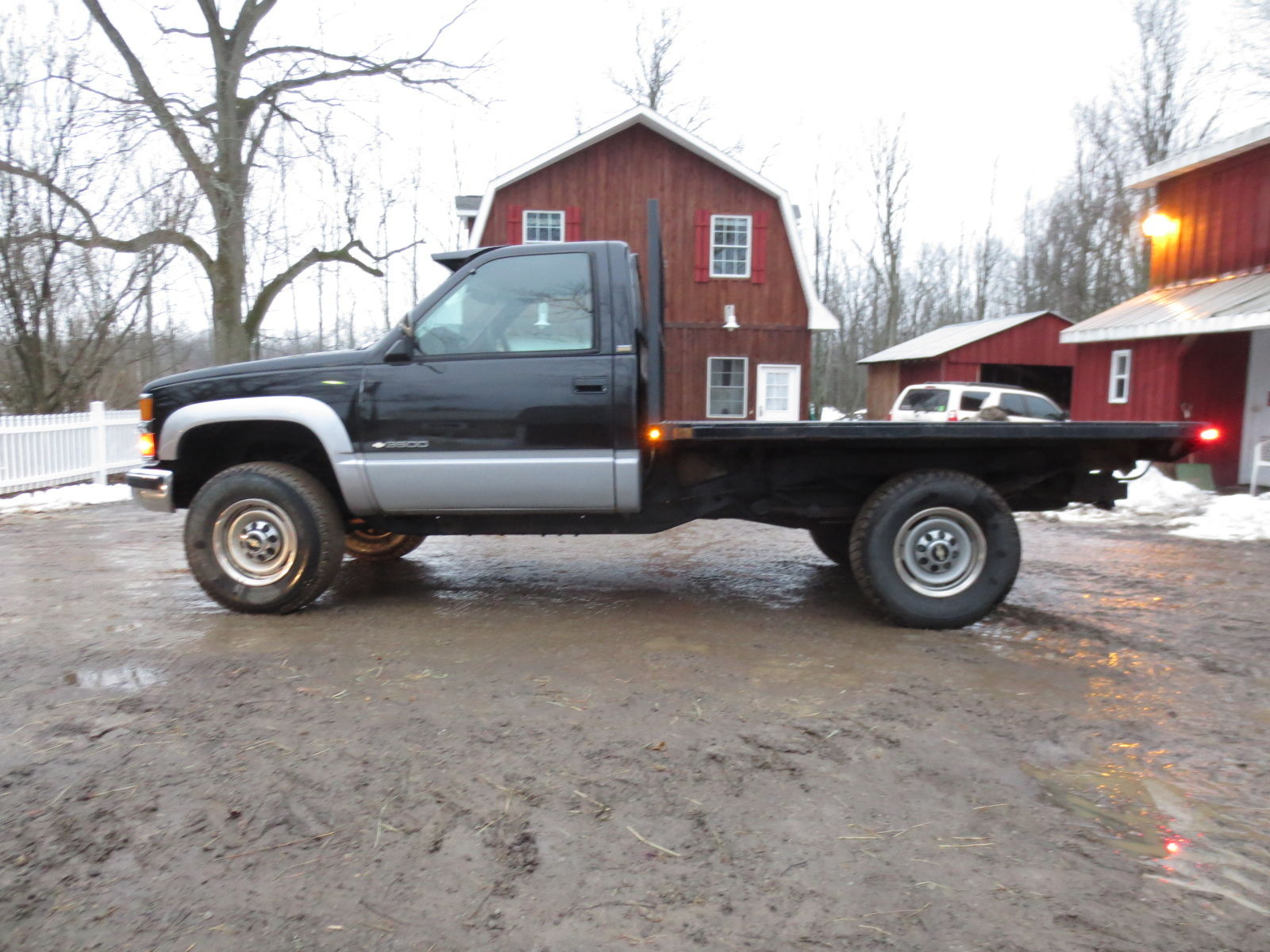1994 Silverado Diesel Flatbed Excellent Condition 4x4 ...