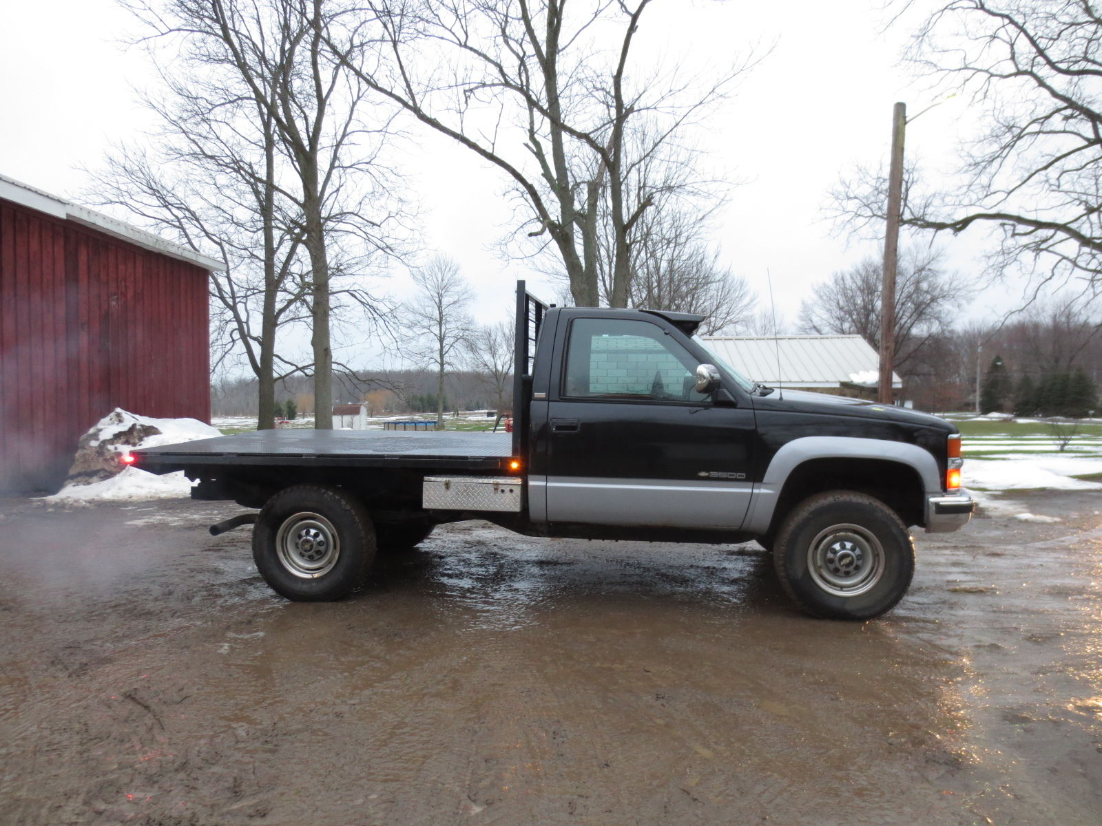 Red Deer Dump >> 1994 Silverado Diesel Flatbed Excellent Condition 4x4 - Classic Chevrolet C/K Pickup 3500 1994 ...