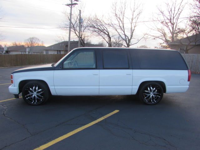1994 Suburban Custom Lowered Classic Chevrolet Suburban