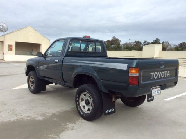 1994 toyota 4x4 pickup truck short bed dlx low miles excellent condition tacoma classic toyota. Black Bedroom Furniture Sets. Home Design Ideas