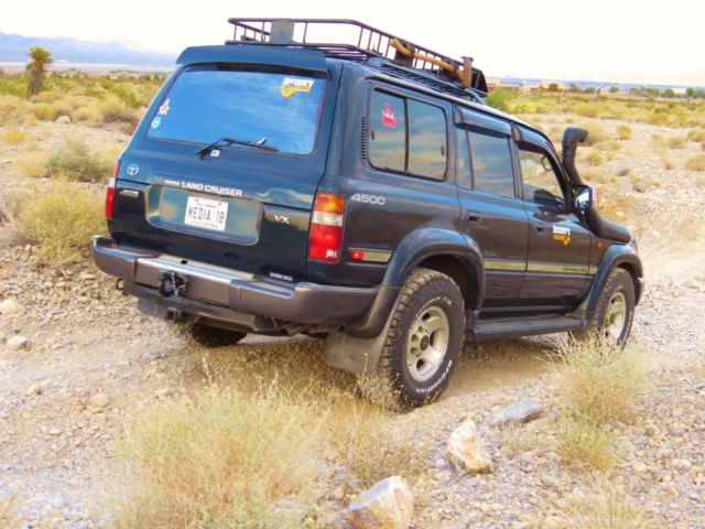1994 toyota land cruiser 4x4 no rust southern nevada for. Black Bedroom Furniture Sets. Home Design Ideas