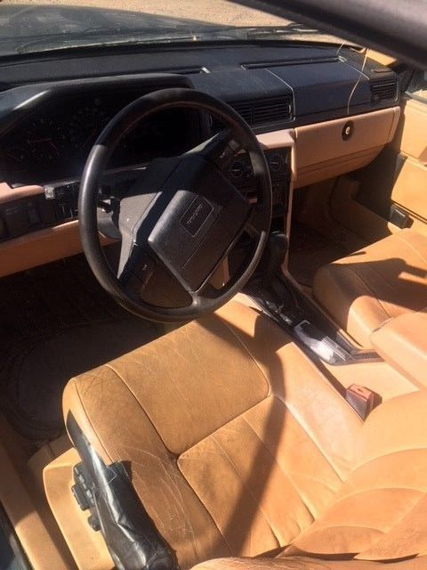 1994 volvo 940 classic teal volvo with tan leather interior classic volvo 940 1994 for sale. Black Bedroom Furniture Sets. Home Design Ideas
