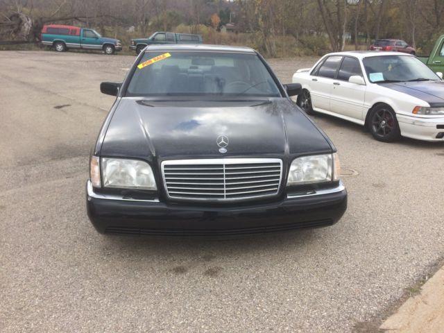 1995 mercedes benz s600 v12 lwb v140 w140 no reserve for Mercedes benz s550 oil change