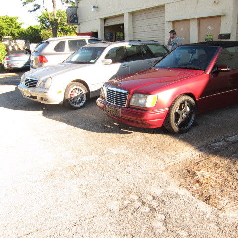 1995 mercedes benz w124 cabriolet e200 custom turbo 5 for Mercedes benz aftermarket performance parts
