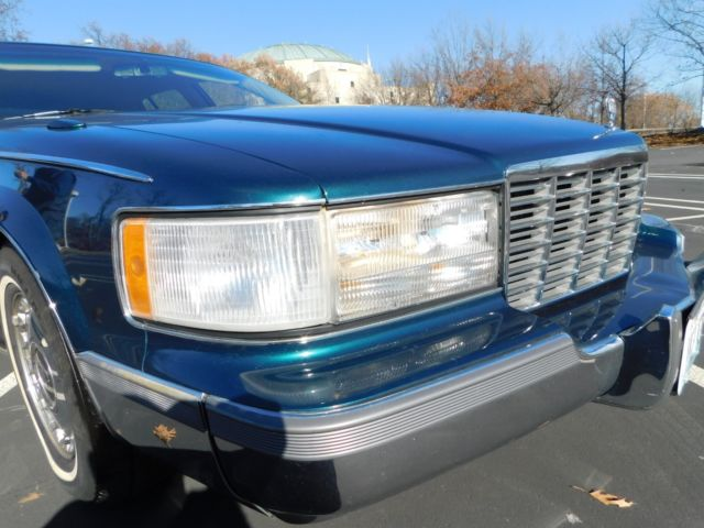 1996 CADILLAC FLEETWOOD VIN NUMBER 1 OF FINAL YEAR FULL ...
