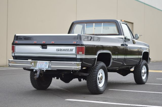 1OWNER 1986 CHEVY K30 1 TON SILVERADO REGULAR CAB 4X4 ONLY ...