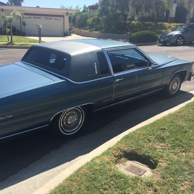 Door Cadillac Fleetwood Brougham Coupe
