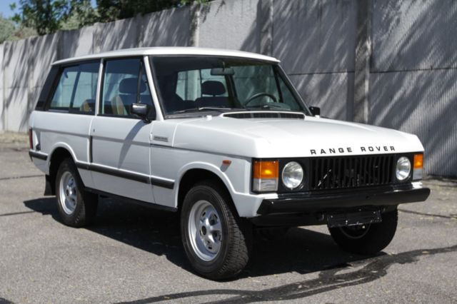 2 door range rover v8 left hand drive clean idaho title nice body classic land rover. Black Bedroom Furniture Sets. Home Design Ideas