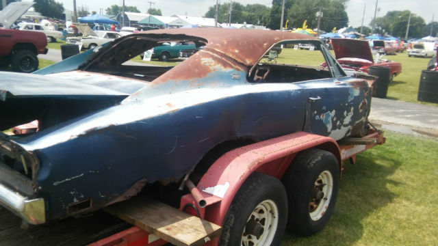 2 Yes Two 1968 And 69 Dodge Charger Project Cars 383 4
