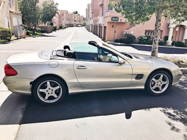 2003 mercedes sl 500 designo edition convertible classic for Mercedes benz 500 convertible
