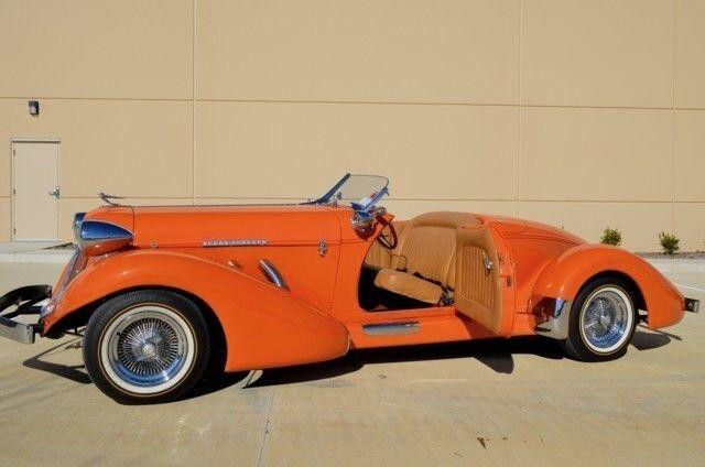 1936 Auburn 852 Sc Dual Ratio Speedster Auburn 852