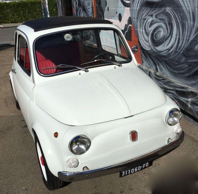 2018 Fiat 500L 27,000 Miles White