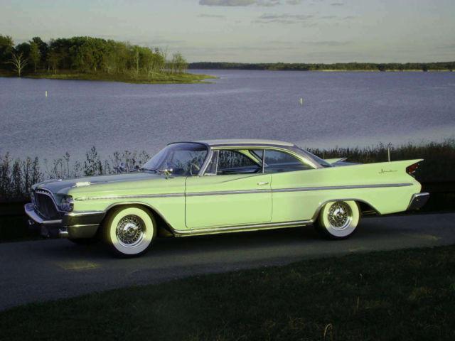 3 cars for sale 1959 el camino 1960 desoto 1 of a kind. Black Bedroom Furniture Sets. Home Design Ideas