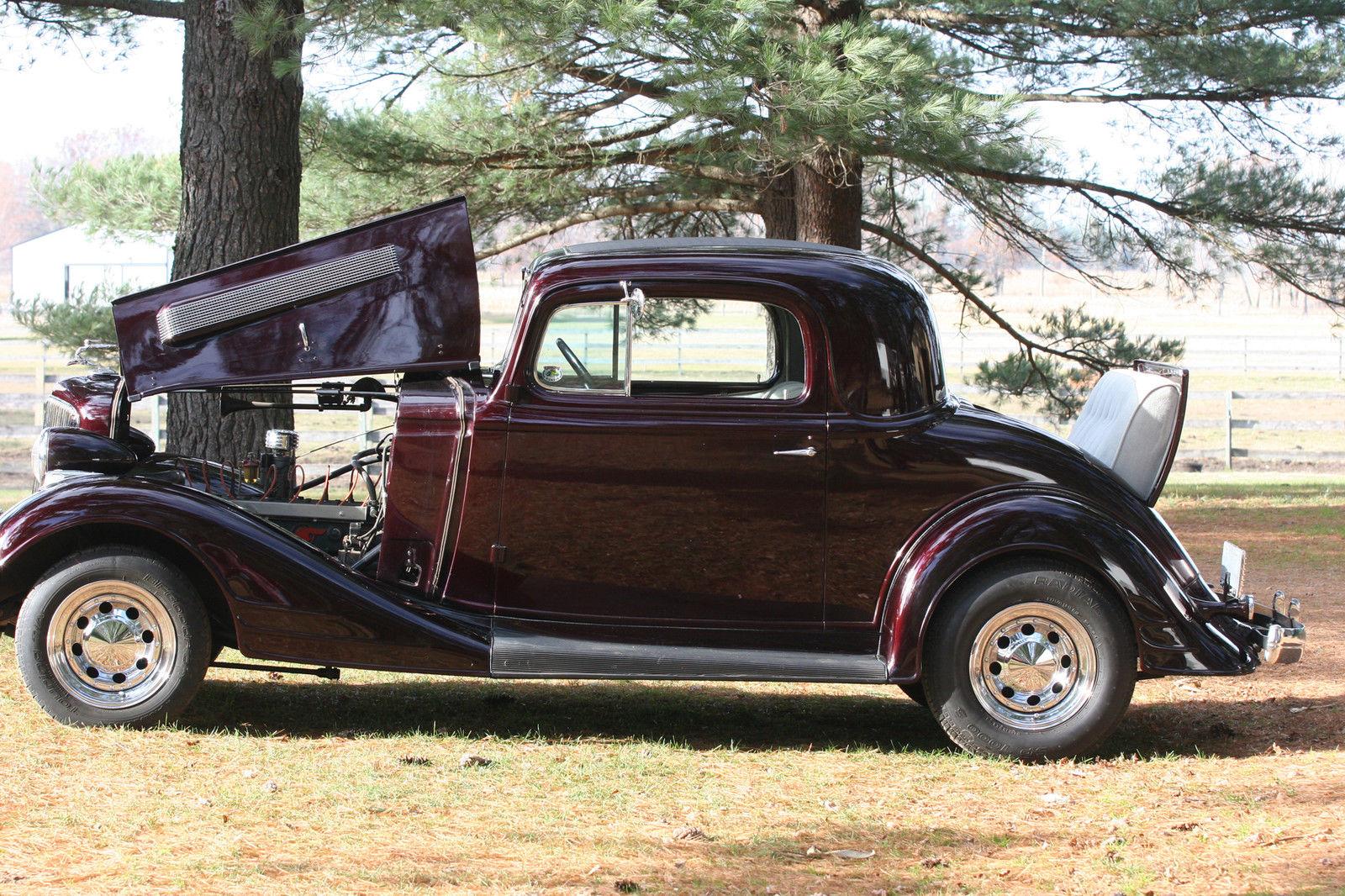 34 pontiac 3 window coupe straight 8 rumble seat orig for 1930 pontiac 3 window coupe