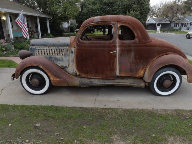 35 Ford 5 Window Coupe Project Hot Rat Rod Flathead V8