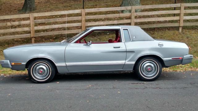 36 000 Original Miles 1977 Ford Mustang Ii 2 Ghia Cobra