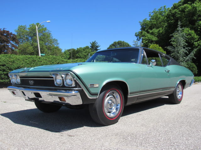 36 Xxx Original Mile 1968 Chevelle Ss All Documents S