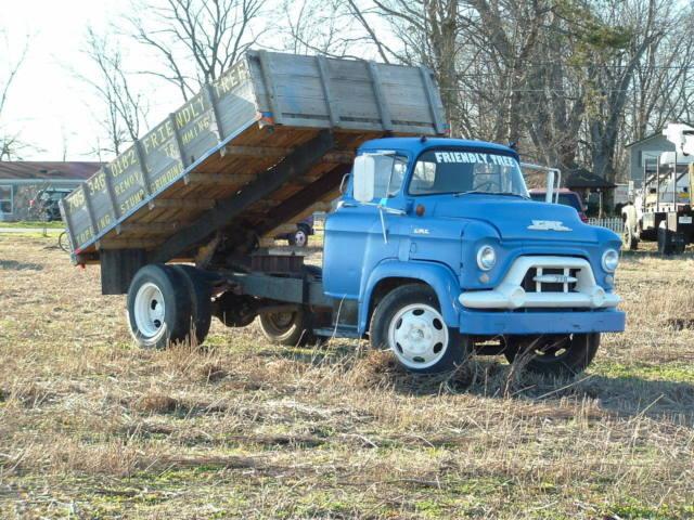 370 Dump Bed Coe Lfc Oem Rat Rod Vintage Antique Ford