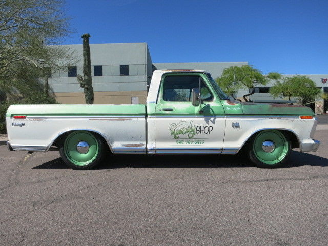 Ci V Ac Detroit Steel Whls Lowered Patina on 1969 ford f100 ranger custom