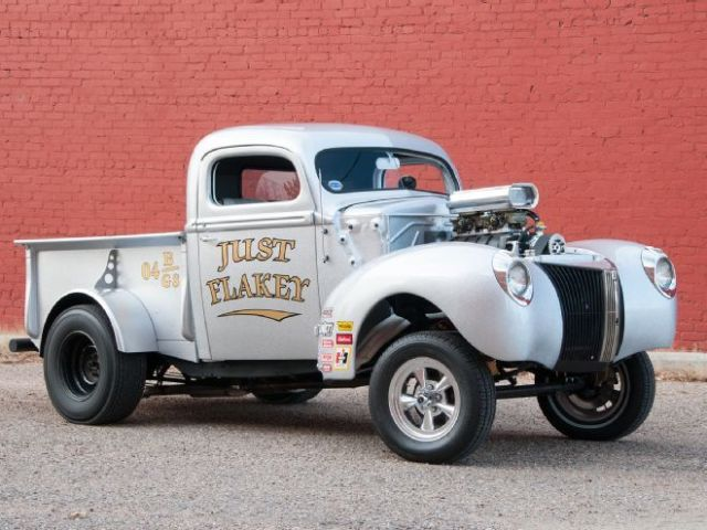41 Ford Pickup Gasser Classic Ford Other Pickups 1941