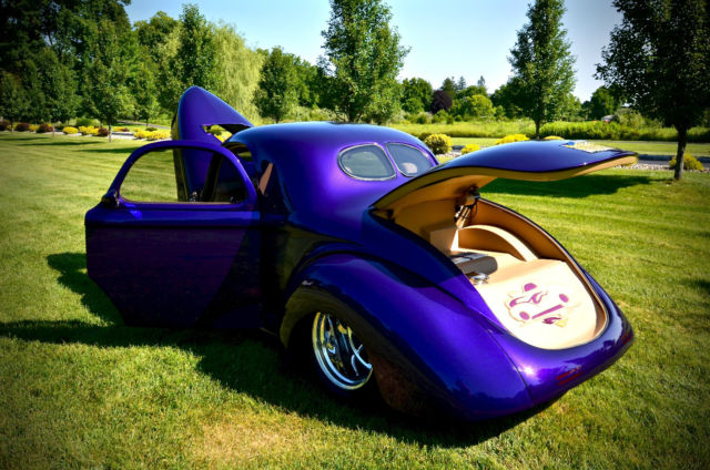 41 Willys Pro Street Coupe Classic Willys Coupe 1941 For