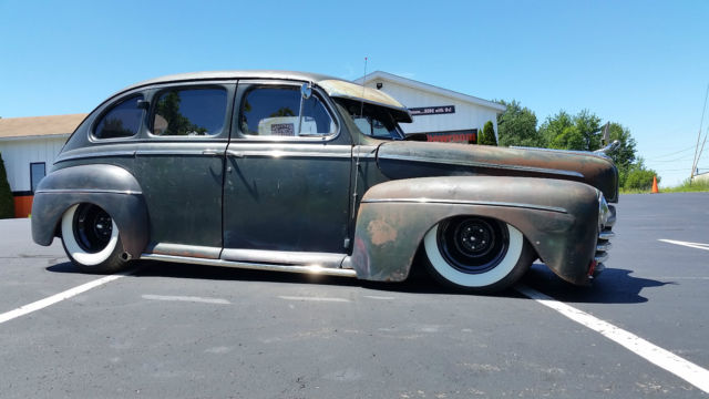 1946 Ford RAT / HOT ROD 1 OF A KIND DRIVE ANY WHERE NO RESV HBC SHOP RAT & 46 FORD HOT / RAT ROD AIR BAGS SUICIDE DOOR 283 SMALL BLOCK NO ... Pezcame.Com