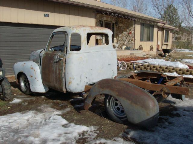 47 48 49 1950 Chevy 5 Window Pickup Resto Project hot rod