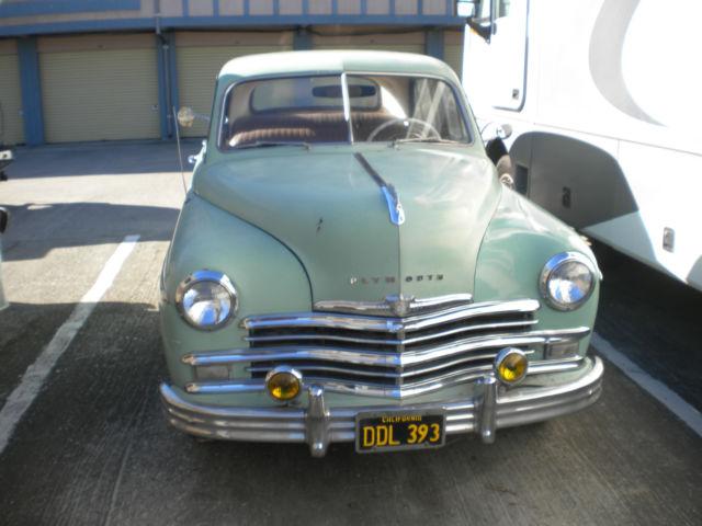 49 Plymouth Sedan 4 Doors