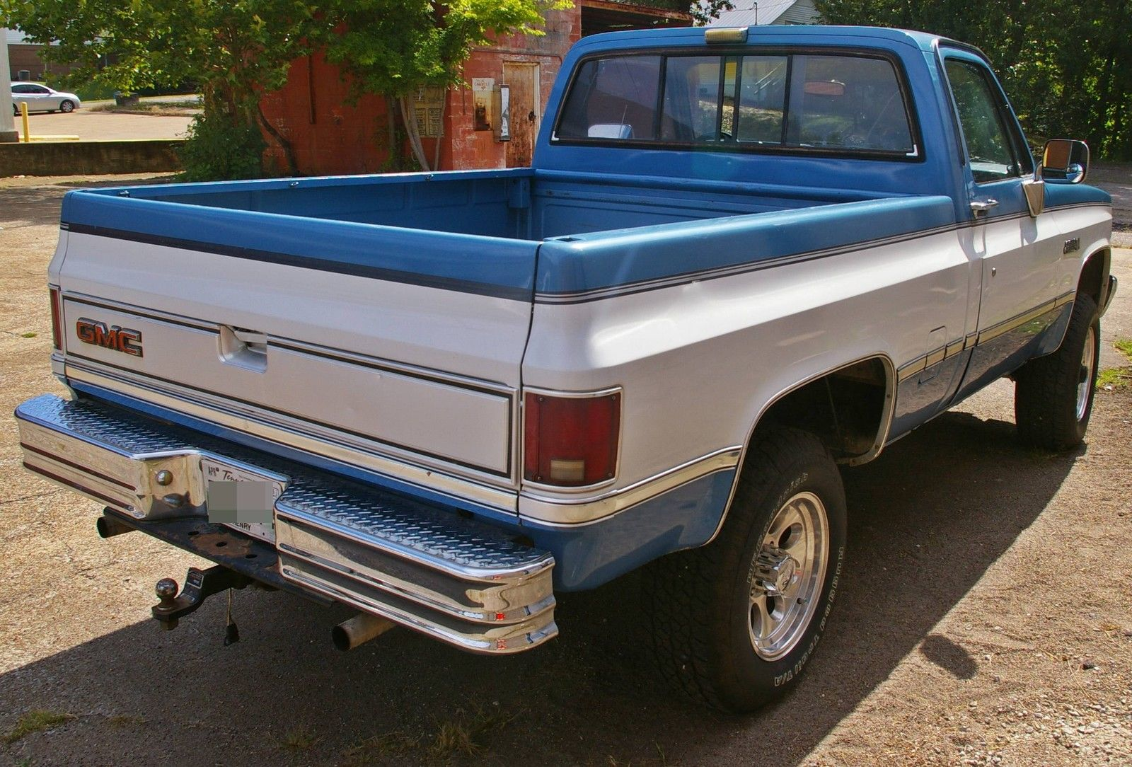 4x4 Gmc Sierra K1500 1986 Like Chevrolet Chevy Silverado