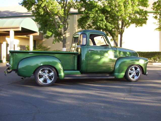53 chevy 5 window 3100 truck frame off custom classic chevrolet other pickups 1953 for sale. Black Bedroom Furniture Sets. Home Design Ideas
